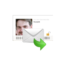E-mail met een  medium uit Nederland